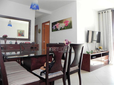 Apartamento Com 3 Dormitórios À Venda, 69 M² Por R$ 450.000 - Ipiranga - São Paulo/sp - Ap1362
