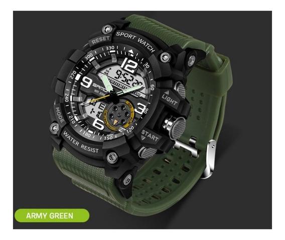 Relógio Masculino Esporte Militar Original Prova D