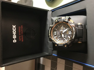 Reloj , Casio G Shock, Gps Hybrid Wave Ceptor