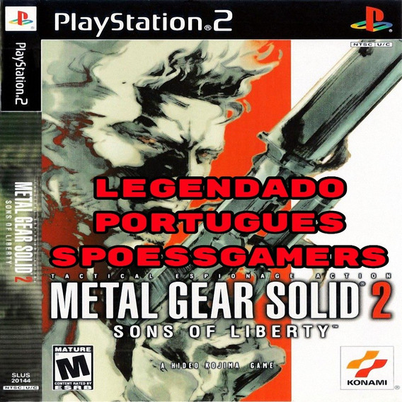 Metal Gear Solid 2 Sons Of Liberty Pt-br Ps2 Patch