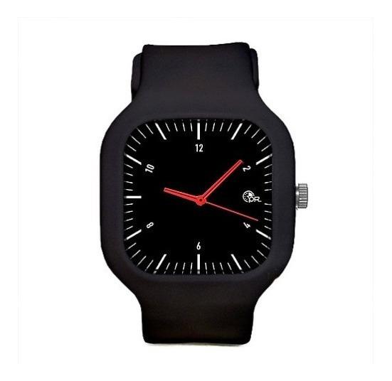 Relógio De Pulso Pr Watches Moovi A Pulseira De Silcione