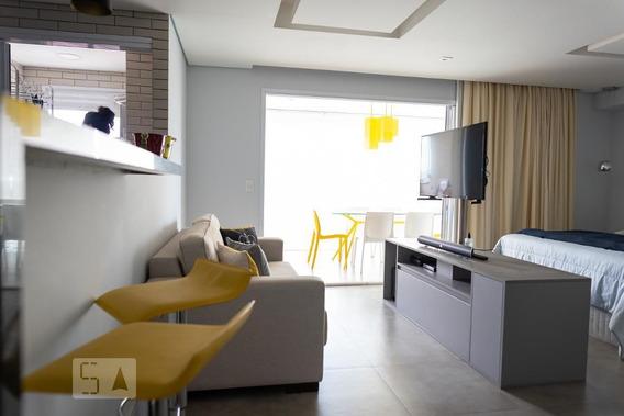 Studio No 11º Andar Com 1 Dormitório E 1 Garagem - Id: 892989743 - 289743