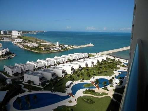 Puerto Cancún, Novo Cancún. Espectacular Departamento De Lujo En Renta Frente Al Mar Torre Boreal 3 Recámaras En. Cancún , Quintana Roo