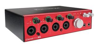 Interfaz De Audio Focusrite Clarett 4 Pre Usb 18i/8o Cuotas