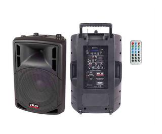 Bafle Activo Portatil BLG Rxa12p 180w Usb Bluetooth - Oddity