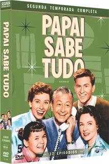 Box Dvd: Papai Sabe Tudo 2ª Temp Completa - Original Lacrado