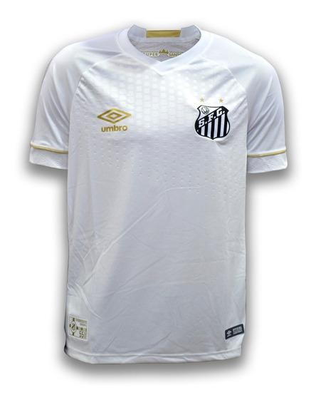 Camiseta Santos Titular Umbro Edicion 55 Años 2018 Original