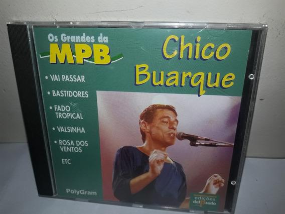 Cd Chico Buarque Os Grandes Da Mpb 1996 ( Semi Novo)