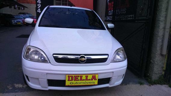 Corsa Sedam Premium 2009 1.8 Flex Completo + Gnv