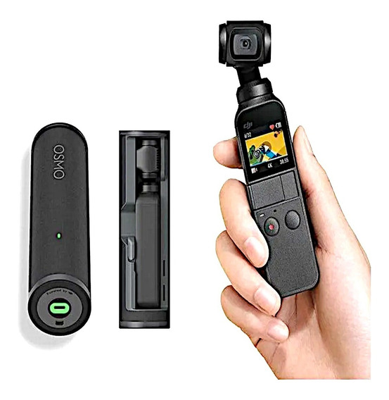 Osmo Pocket 4k 12mp Com Estabilizador + Charging Case