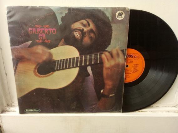 Gilberto Gil Lp Vinilo Tropicalia Folk Psych Brasil Ed Arg