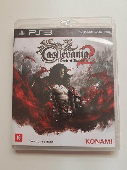 Castlevania 2 Midia Física Original Para Playstation 3