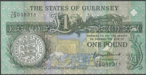 Guernsey 1 Pound 2003 P62