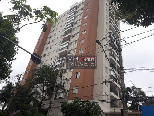 Apartamento Com 2 Dormitórios, 58 M² - Venda Por R$ 360.000,00 Ou Aluguel Por R$ 1.600,00/mês - Lauzane Paulista - São Paulo/sp - Ap1118