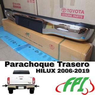 Parachoque Trasero Hilux 2012 2013 2014 2015 Nuevo Complet