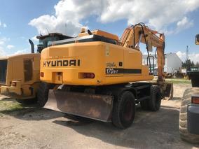 Excavadora Sobre Neumatico Hyundai Robex 170