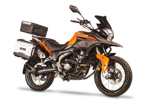 Moto Corven Triax 250 Touring 0km 2020 Roja