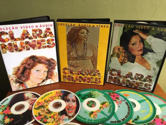 Dvd - Clara Nunes (6 Dvd + 4 Cd) Coleção Vídeos