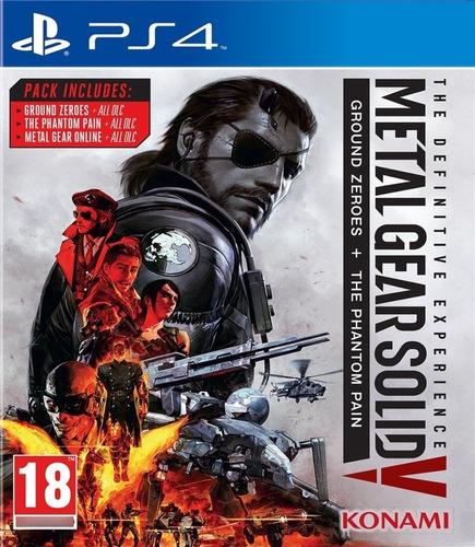 Imagen 1 de 1 de Metal Gear Solid V Collection - Ps4 Fisico Nuevo & Sellado
