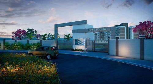 Imagem 1 de 30 de Apartamento Com 2 Quartos À Venda, 40 M², Área De Lazer, 1 Vaga, Financia - Coaçu - Eusébio/ce - Ap1696