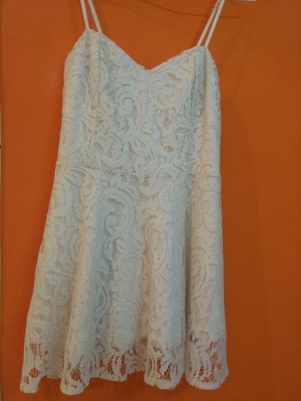 Vestido Ona Saez De Encaje