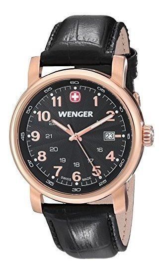 Wenger 01.1021.109 Urban Classic 3h Reloj De Cuarzo Suizo Co