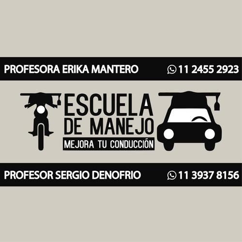 Imagen 1 de 4 de Cursó Auto Doble Comando 5 Horas $8000 Zona Sur Y Caba
