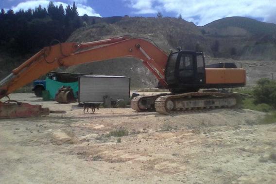 Excavadora Hitachi 330 Con Martillo Hidráulico Bombas Nuevas