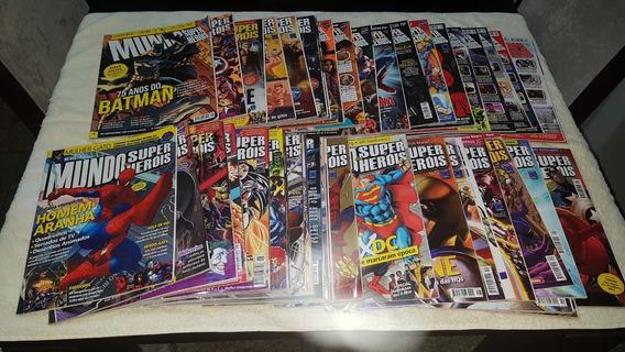 Revista Mundo Dos Super-heróis Nº 2 A 45 Ed Europa Avulsas