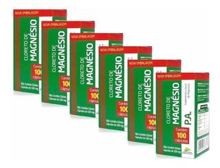 Cloreto-de-magnesio-pa Original 600 Capsulas Frete Grátis