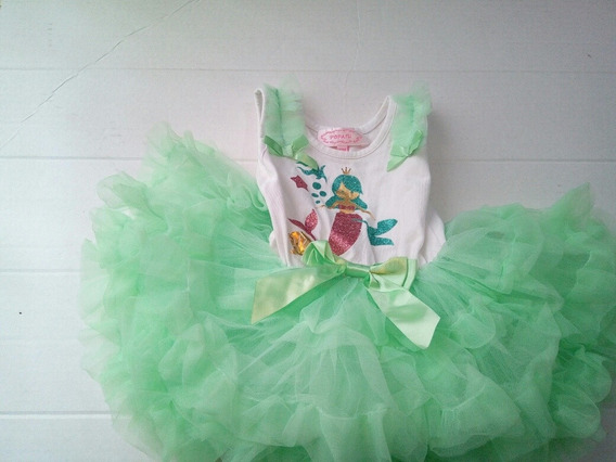 Vestido Bebe Sirenita Popatu Pañalero Super Ampon Hermoso