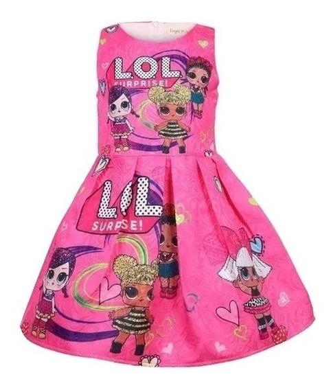 Vestido Lol Surprise Para Las Niñas De Mamá