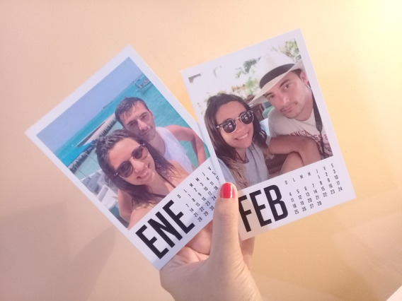 12 Fotos Calendario Fotos Simil Polaroid 2020