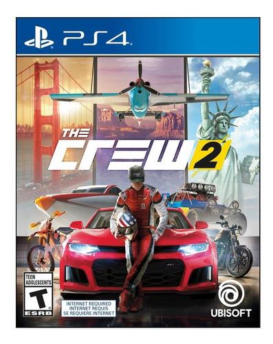 Imagen 1 de 6 de The Crew 2 Standard Edition Ubisoft Ps4 Físico Sellado