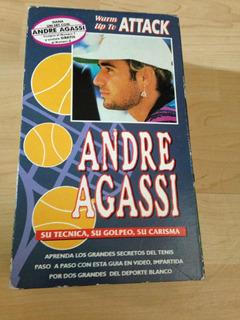 Videocassete Vhs André Agassi Curso De Tenis