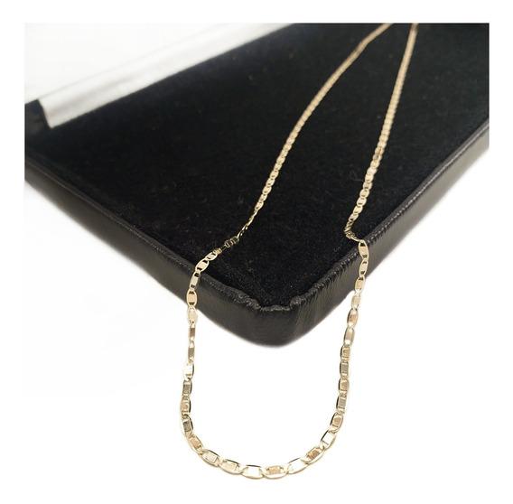 Cadena Espejo 3 Colores Oro 100% 10k Sólido 45cm & 1.5grs