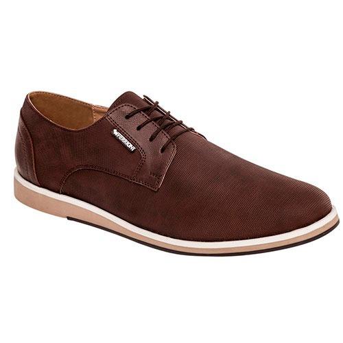 Zapato Hombre Ferrioni H36-001-01 Café 25 -29 Envio Gratis