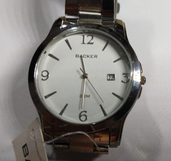 Relógio Backer Chronos 1455223 F Novo - 009