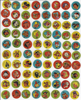 Uruguai Coleção Completa 80 Tazos Ou Figurinhas Disney