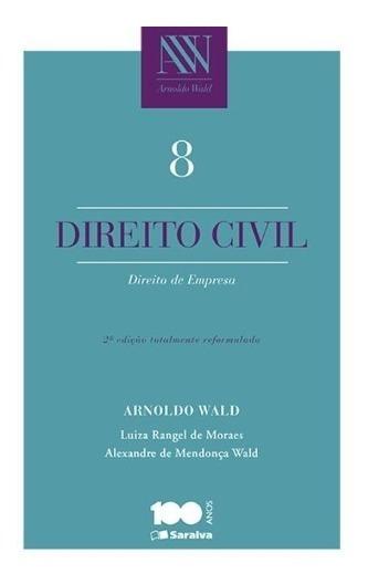 Direito Civil 8 - Empresa - Arnoldo Wald - 2ª Ed. 2015