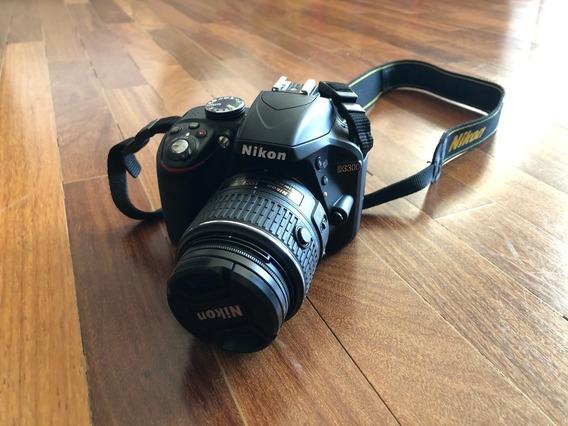 Camera Nikon D3300 Black + Lente Nikon 18-55mm Vr 2 + Grip