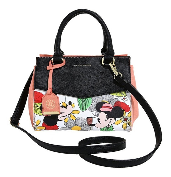 Disney Loungefly Cartera Minnie Mouse Con Correa Nueva Stock