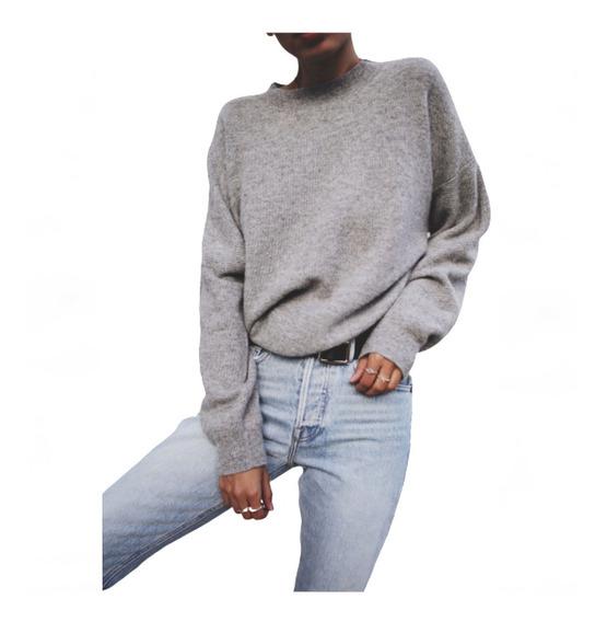 Sweater Lanilla Suave Buzo - Art. Aspen - Espacio De Bellas!