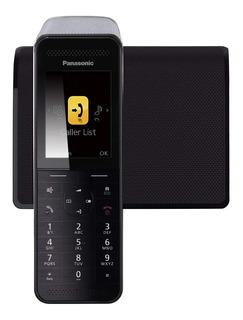 Teléfono inalámbrico Panasonic KX-PRW110 negro y plateado