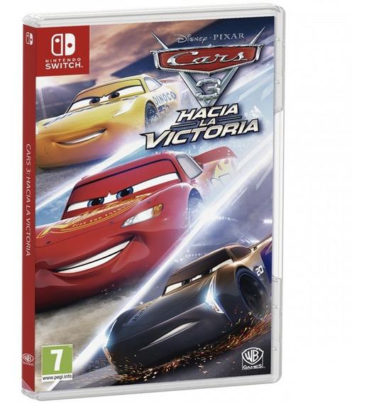 Cars 3 Nintendo Switch Fisico Original Sellado Juego Nuevo