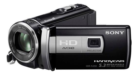Filmadora Sony Hdr-pj200 Projetor Hdmi Fullhd