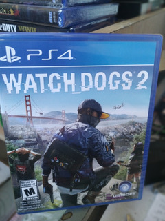 Watch Dogs 2 Ps4 Nuevo Y Sellado Original