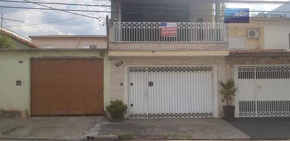Excelente Sobrado Para Locação Na Vila Talarico - So0049