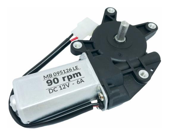 Motor 12v Dc Com Redução 90 Rpm Alto Torque Motoredutor 12v
