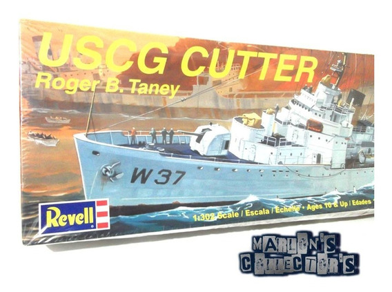 Buque Uscg Cutter Roger B. Taney Revell 1:302 Model Kit